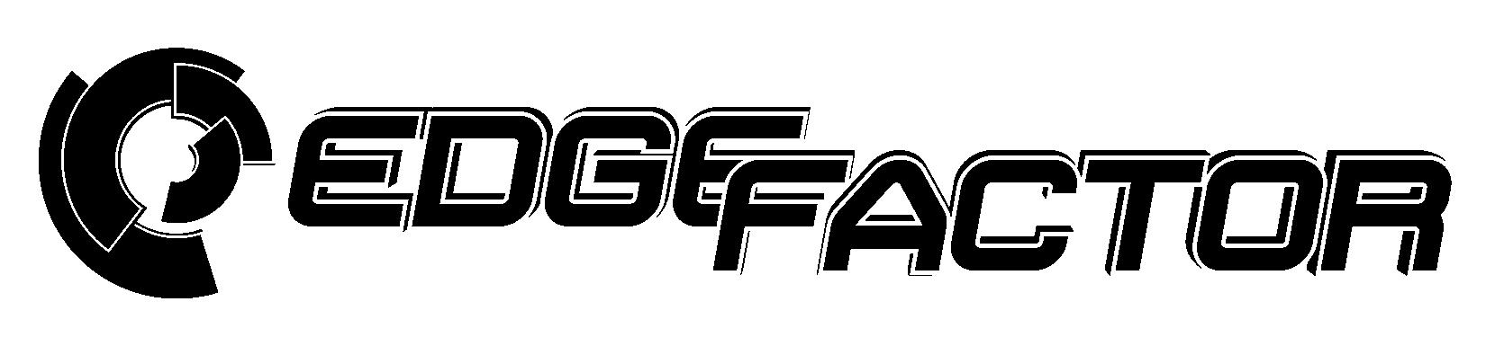 EdgeFactor logos 2018 black